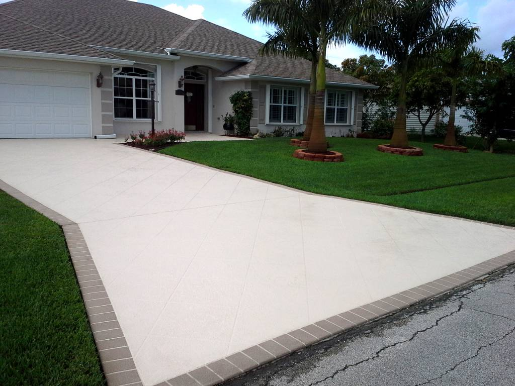 How To Make Concrete Patio Look Nicer Designs